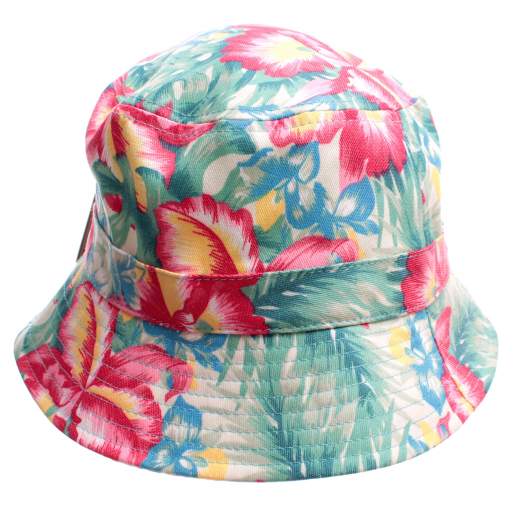 f49533f0d48 Tropical Paradise Floral Print Bucket Hat – The Fly Pelican