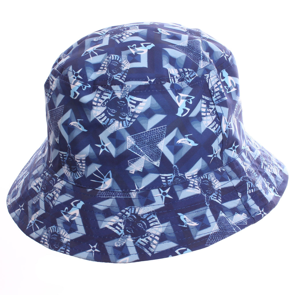 0b4641bee4c Blue Ancient Egyptian All Over Print Bucket Hat – The Fly Pelican