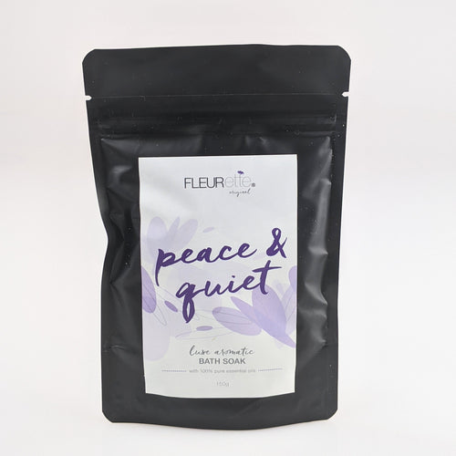 Peace and Quiet bath soak