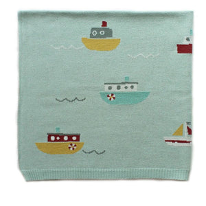 Tugboat Blanket