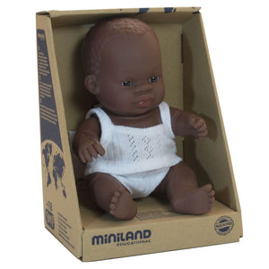 Miniland Boy Doll 21cm (4 assorted)