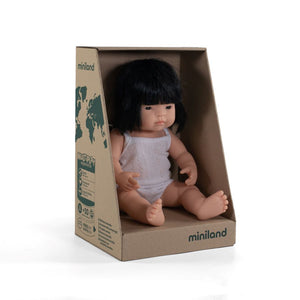 Miniland Girl Doll 38cm (4 Assorted)