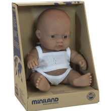 Load image into Gallery viewer, Miniland Boy Doll 21cm (4 assorted)