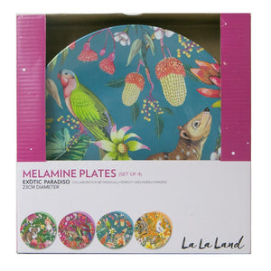 Plate Set Exotic Paradiso