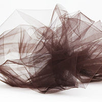 brown nylon tulle