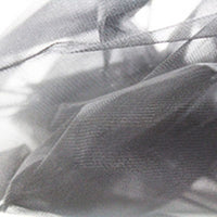 black nylon crinoline
