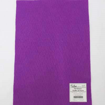 purple polyester felt sheets