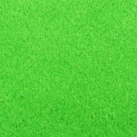 apple green polyester felt