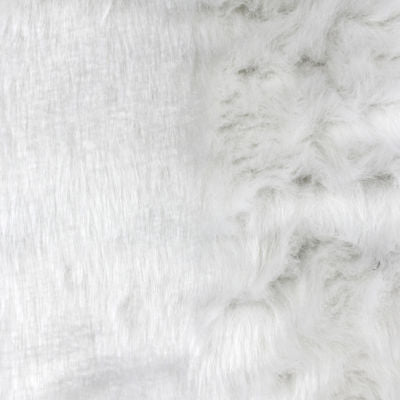 0272300 FAUX FUR #3 WHITE
