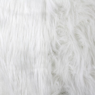 0272400 FAUX FUR #4 WHITE
