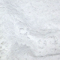 white polyester lace