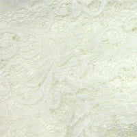 off white polyester lace