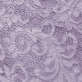 purple polyester lace