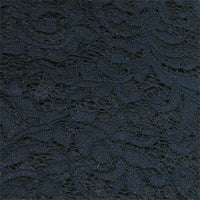 navy polyester lace