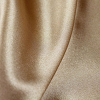 gold polyester satin