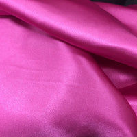 berry polyester satin