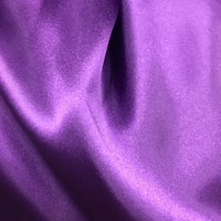 purple polyester satin