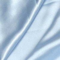 blue polyester satin