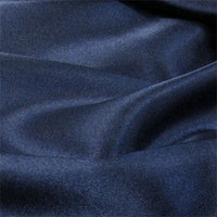 midnight polyester satin
