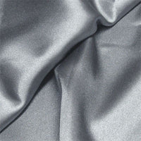 pewter polyester satin