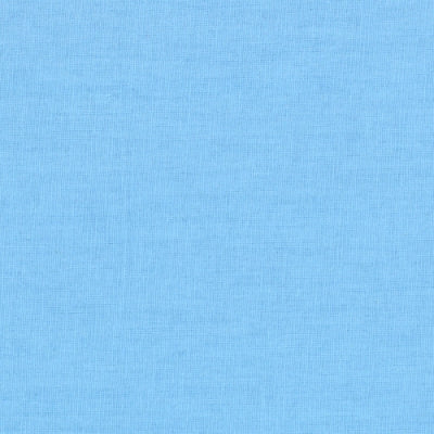 blue solid cotton fabric
