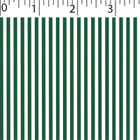 forest ground cotton fabric with white little stripe prints