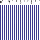 purple ground cotton fabric with white little stripe prints