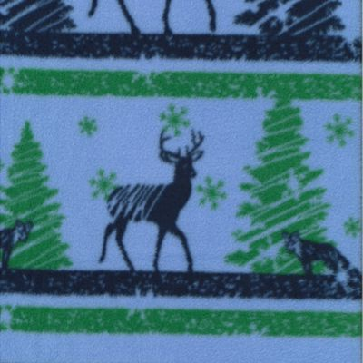 3265018 Mountain Fleece Prints - CHRISTMAS DEER