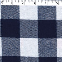 3664000 ROAMING BUFFALO CHECK COTTON