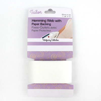 5036236 HEMMING WEB WITH PAPER BACKING 30mm x 5m