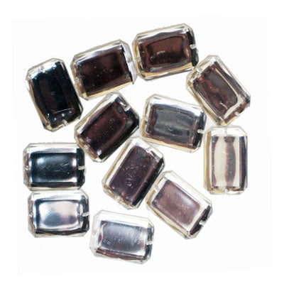 5093004 Jewel Embellishments Rectangle 18mm x 25mm