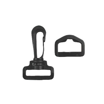 5096061 Clip Swivel D-Ring 25mm