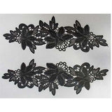 5200043 Lace Applique 25.8cm x 8cm