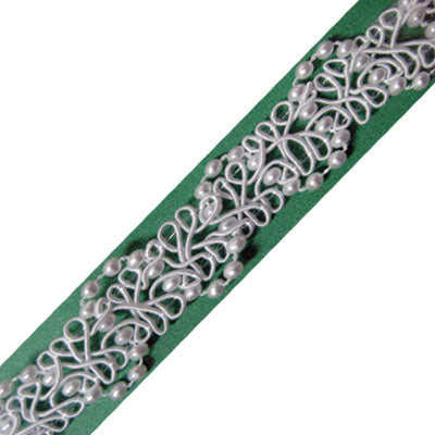 5949064 Trim Fancy Braid With Pearl 1.3cm
