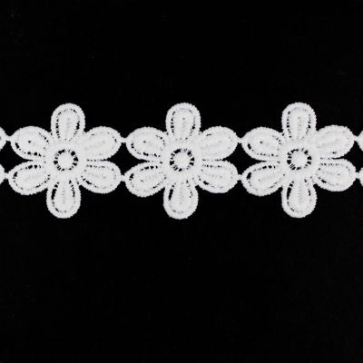 5949203 LACE GUIPURE FLORAL 30 MM