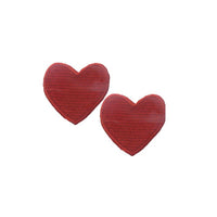 6136403 Applique Heart 3.6cm x 3.1cm