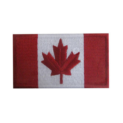 6136437 Applique Canadian Flag 7.6cm x 5cm