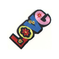 6136492 Applique Love Iron-On 10cm x 4.3cm