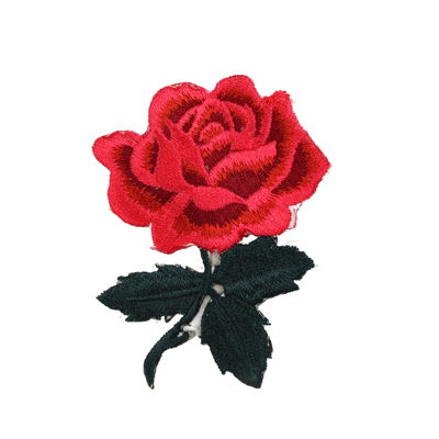 6136516 Applique Rose 8cm X 5.7cm