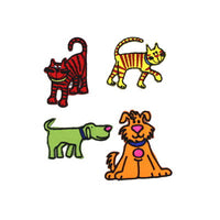 6136631 Cats & Dogs Applique