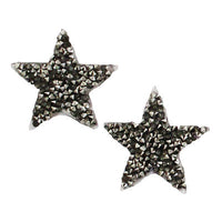 6136646 Applique Star Rhinestone 3cm x 3cm