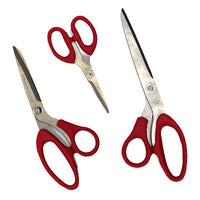 6213003 3pc Titanium Premium Scissors Set (# 8292)