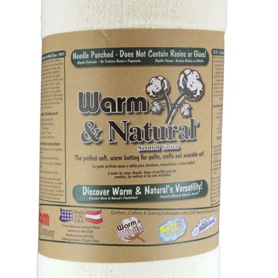 6610200 Warm & Natural Grab-N-Go Batting Roll - Special Purchase Price
