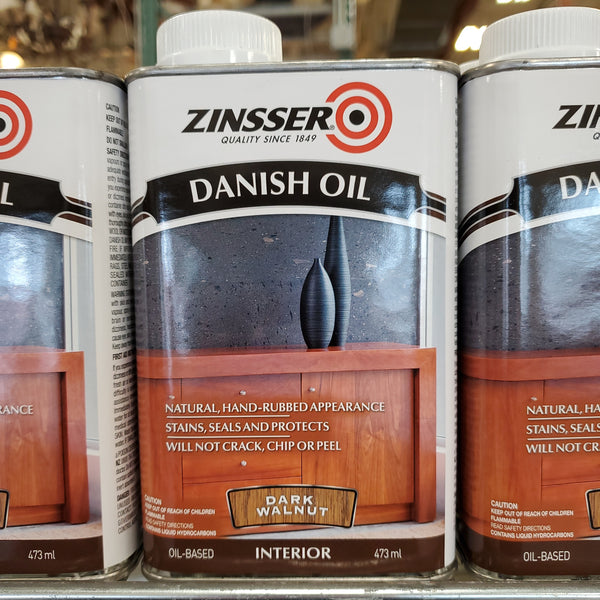 Danish Oil - Dark Walnut