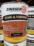 1 Qt Zinsser Stain & Varnish