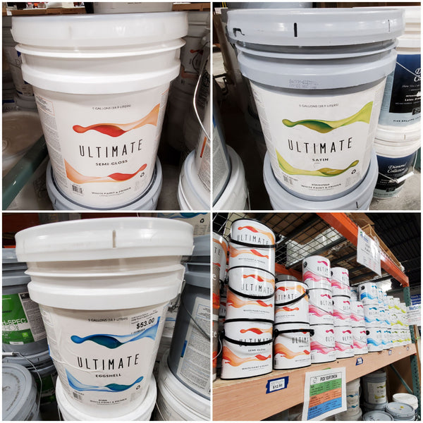 5 Gallon Ultimate Paint - White