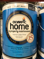 Olympic Paint 1 Gallon - Flat Classic Antique White