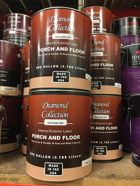 Dark Gray Porch & Floor Paint - 1 gallon