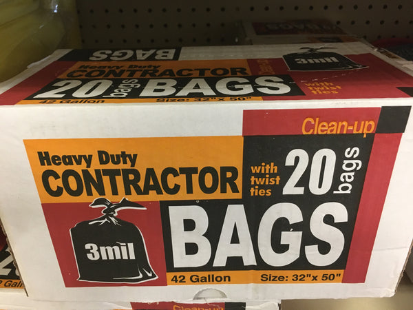 Contractor Bags - Heavy Duty