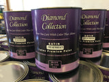 Diamond Satin White - 1 gallon
